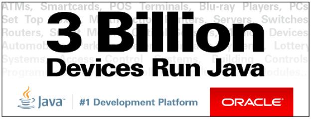 3 billion devices run java