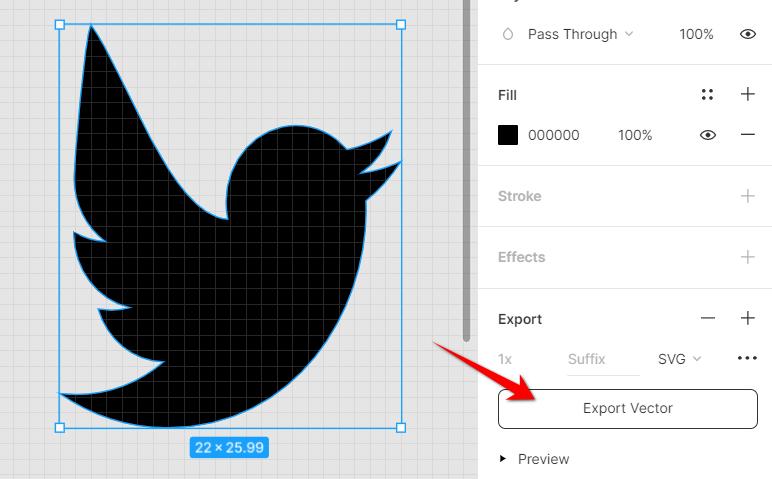 Figma Export Icon