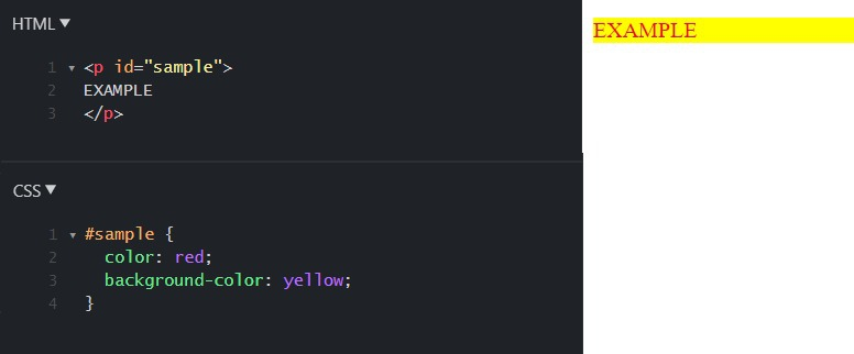 background-color CSS property