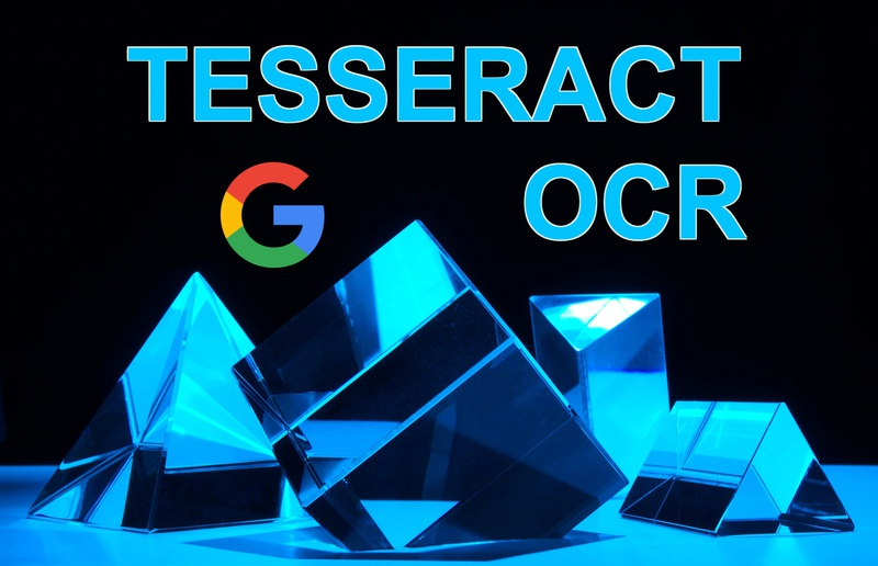 Extract text using tesseract OCR