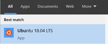 Run WSL 2 Ubuntu from Start Menu