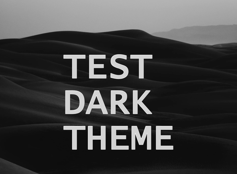How to test dark mode preference in a browser