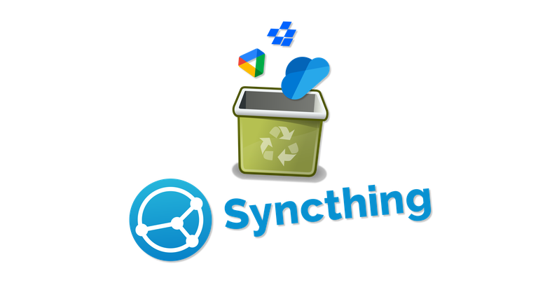 Run Syncthing on your server